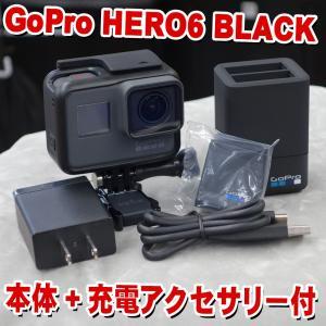 【セット内容】GoPro HERO 6 BLACK×1/純正デュアル バッテリー チャージャー×1/...