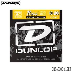 ベース弦 ダンロップ 40-100 DBS40100 ライト ステンレス弦 DUNLOP|merry-net