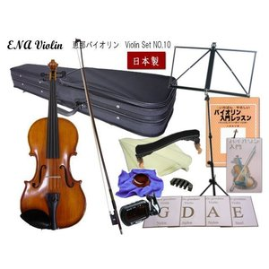 恵那バイオリン 3/4(身長目安130〜145cm用)教則DVD付き12点セット|merry-net