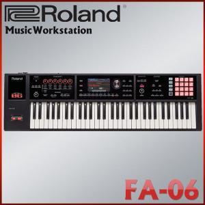 ローランド シンセサイザー FA-06 61鍵盤ミュージックワークステーション:Roland FA06|merry-net