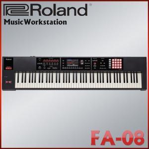ローランド シンセサイザー FA-08 Roland 88鍵盤ミュージックワークステーション ステージピアノ|merry-net