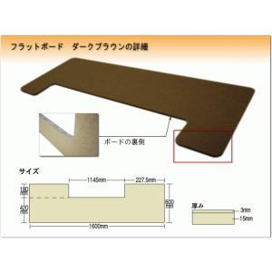 ピアノ用 床補強ボード:吉澤 フラットボード FB ブラウン/ピアノアンダーパネル|merry-net|02