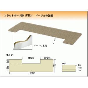 ピアノ用 防音&断熱タイプ 床補強ボード:吉澤 フラットボード静 FBS ベージュ|merry-net|02