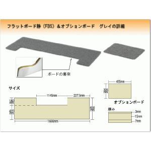 ピアノ用 防音&断熱&床補強ボード+補助台用ボード:吉澤 フラットボード静 FBS-OP グレイ|merry-net|02