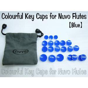 NUVO カラーキイキャップ ブルー (ヌーボ フルート STUDENT FLUTE/J-FLUTE用) merry-net