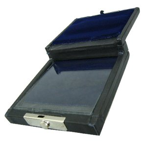 GALAX リードケース 本革両面タイプ ブラック B♭クラリネット / アルトサックス 兼用|merry-net