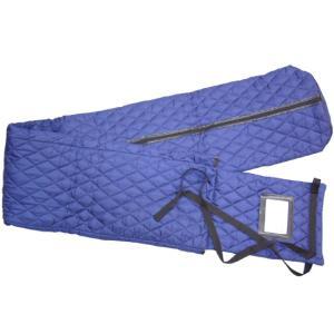 13弦お箏用:キルト 琴袋(箏袋)長いタイプ(フリーサイズ):紺色|merry-net