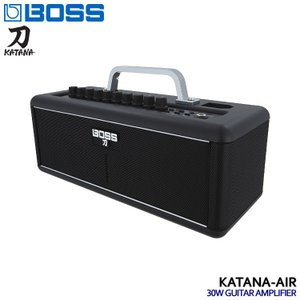 BOSSのギターアンプ「KATANA-AIR」です。BOSSが独自に開発した最新のワイヤレスギターテ...