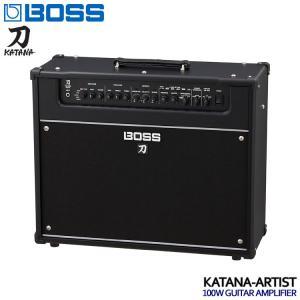 BOSSのギターアンプ「KATANA-Artist」です。BOSS最高峰の技を継承した本格的なチュー...