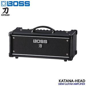 BOSSのギターアンプ「KATANA-HEAD」です。エッジの効いたロック・サウンドを特長とする、1...