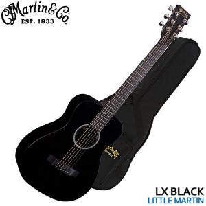 Martin ミニアコースティックギター Little Martin LX BLACK リトルマーチン|merry-net