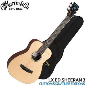 マーチンのミニエレアコ「Ed Sheeran÷Signature Edition」です。アウトドアや...
