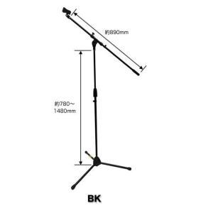K.W.S ワイヤレスマイク1本 電波到達最長90m KWS-899H/H + 軽量ブームマイクスタンド付き merry-net 02