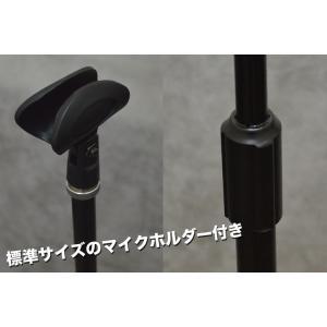 キョーリツ ストレートマイクスタンド MCS4400-BK 黒 (キャリングケース/マイクホルダー付き)|merry-net|04