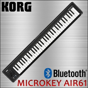 KORG / コルグ USB・ワイヤレス両対応 61鍵MIDIキーボード microkey AIR 61|merry-net