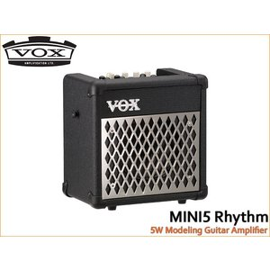 VOX モデリングギターアンプ MINI5 Rhythm ブラック ボックス merry-net