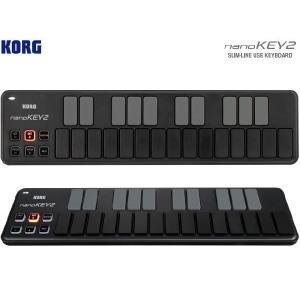 KORG nanoKEY2-BK(ブラック) USB-MIDIコントローラー コルグ ナノキー2|merry-net