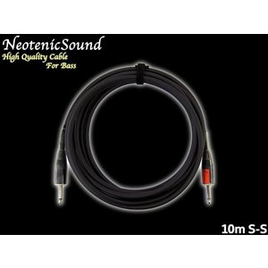 NeotenicSound ベース用ケーブル 10M S-S ネオテニックサウンド EFFECTORNICS ENGINEERING|merry-net