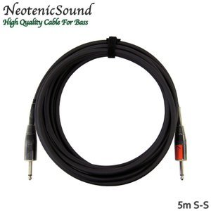 NeotenicSound ベース用ケーブル 5m S-S ネオテニックサウンド EFFECTORNICS ENGINEERING|merry-net