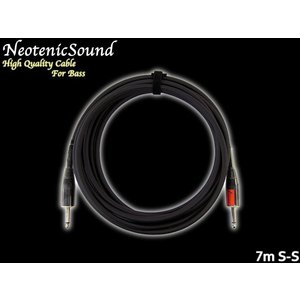 NeotenicSound ベース用ケーブル 7m S-S ネオテニックサウンド EFFECTORNICS ENGINEERING|merry-net