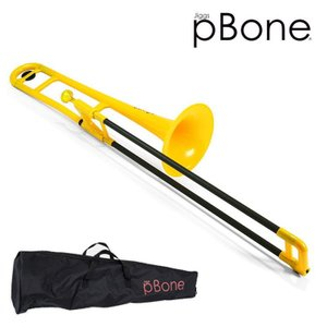 pBONE プラスチック  トロンボーン B♭イエロー (ピーボーン PINSTRUMENTS PBONE1Y)|merry-net