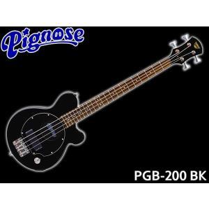 Pignose ピグノーズ アンプ内蔵ベース PGB-200 BK merry-net