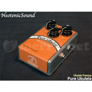 NeotenicSound ウクレレ用プリアンプ Pure Ukulele ネオテニックサウンド EFFECTORNICS ENGINEERING エフェクター|merry-net