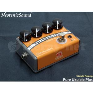 NeotenicSound ウクレレ用プリアンプ Pure Ukulele Plus ネオテニックサウンド EFFECTORNICS ENGINEERING エフェクター|merry-net
