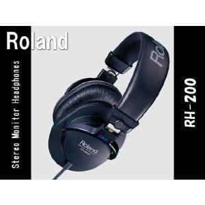 Roland:スタジオ・モニター・ヘッドフォン:RH-200■ローランド レコーディング用 ヘッドホン merry-net