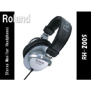 ローランド ヘッドホン RH-200S■Roland 高品質 ヘッドフォン merry-net