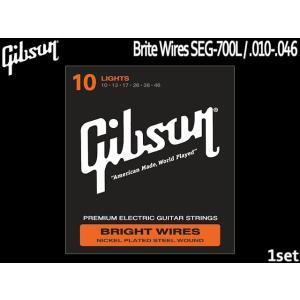 エレキギター弦 ギブソン 10-46 SEG-700L ライト Gibson|merry-net