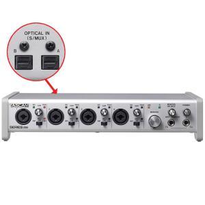 TASCAM USBオーディオ/MIDIインターフェイス Series208i タスカム (拡張により20INまで対応)|merry-net