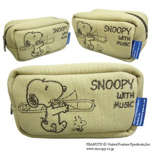 SNOOPY スヌーピー マウスピースポーチ トロンボーン用|merry-net