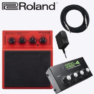 同期演奏に Roland WAV再生パッド SPD ONE WAV(ヘッドフォン4分配器セット)|merry-net
