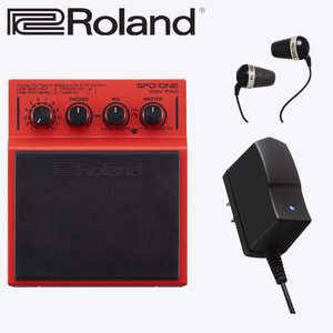 ローランド WAV再生パッド SPD ONE WAV PAD(ACアダプター・イヤフォン付き)Roland merry-net