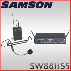 SAMSON ワイヤレスシステム Concert 88 SW88HS5 (サムソン/ヘッドセットマイクモデル)|merry-net