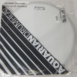 アクエリアン ドラムヘッド(コーテッドヘッド)(AQUARIAN)タム・スネア向け TCFX-14-Q(TCFX14Q)14インチ