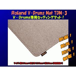 ローランド 電子ドラムマット(roland V-drums mat)TDM-3|merry-net