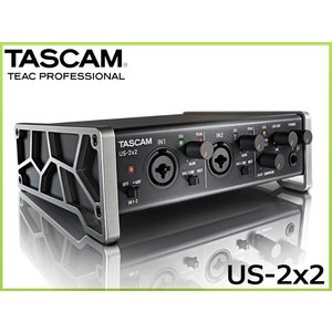 TASCAM (タスカム) USBオーディオインターフェイス US-2x2-SN (2入力2出力)|merry-net