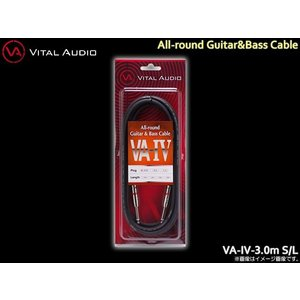 VITAL AUDIO ギターケーブル VA-IV 3m S/L バイタルオーディオ シールド|merry-net