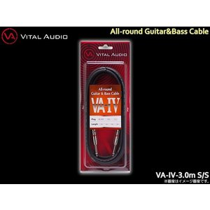 VITAL AUDIO ギターケーブル VA-IV 3m S/S バイタルオーディオ シールド|merry-net