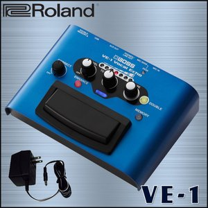 BOSS ボーカルエフェクター VE-1 ボーカル録音やライブに最適 (ACアダプター付き) merry-net