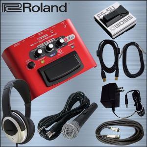 BOSS ボーカルエフェクター VE-2 (フットスイッチ/マイク/USBケーブル/ヘッドホン付きセット) merry-net