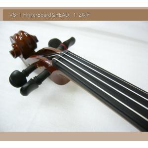 分数 バイオリン 子供用 カルロジョルダーノ VS-1 1/2 8点セット|merry-net|02