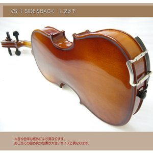 分数 バイオリン 子供用 カルロジョルダーノ VS-1 1/2 8点セット|merry-net|03