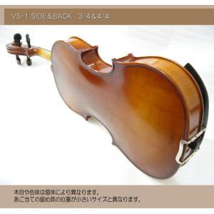 分数 バイオリン 女性 子供向け カルロジョルダーノ VS-1 3/4 8点セット ■お取り寄せ|merry-net|03
