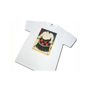 Tシャツ ティーシャツ 和柄 相撲 力士 お土産 浮世絵 ■人気の和風プリントTシャツです☆ ■日本...