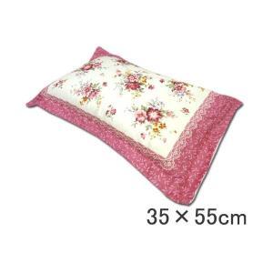 全ソバ枕 35×55cm 日本製 まくら 柄おまかせ ピンク 快眠そばがら枕
