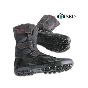 地下足袋 マジックテープ スパイクシューズ 若葉 I-98 黒 作業靴24.0〜28.0cm