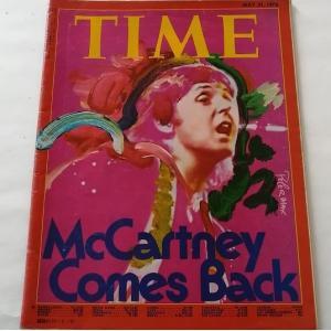 タイム TIME 1976年5月発行 マッカートニー カム バック McCARTNEY COMES ...